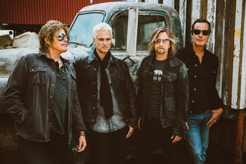 A photo of Stone Temple Pilots