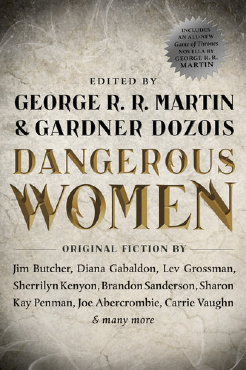"""The cover of """"Dangerous Women."""""""