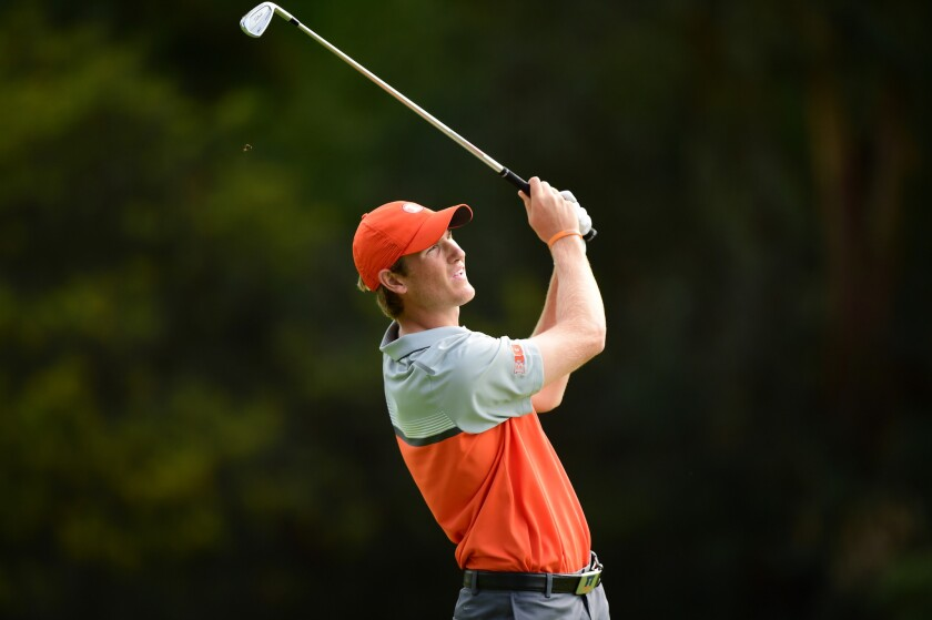Big Ten's Charlie Danielson stays with the big boys with a 67 at Riviera