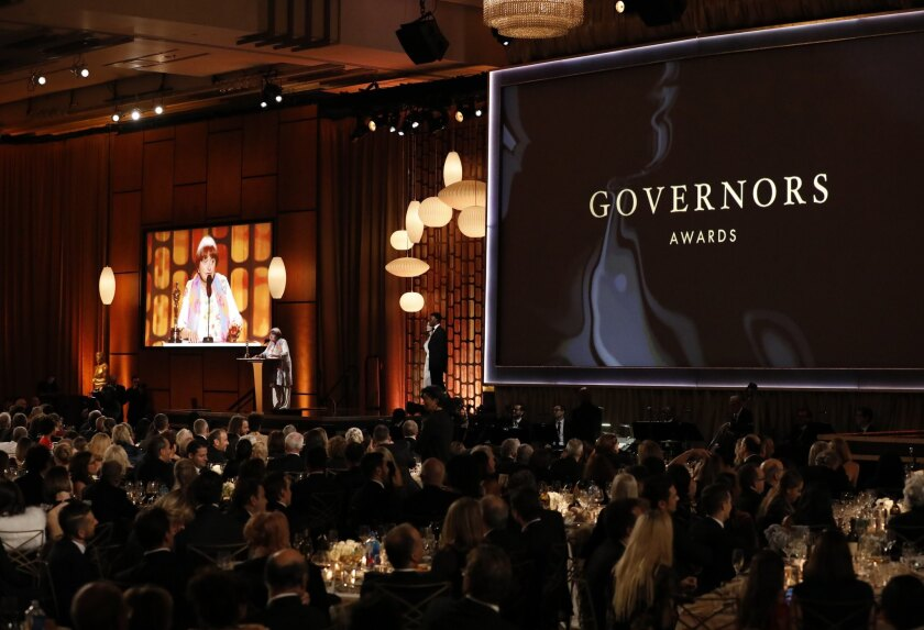 9TH Governors Awards – Show – Los Angeles