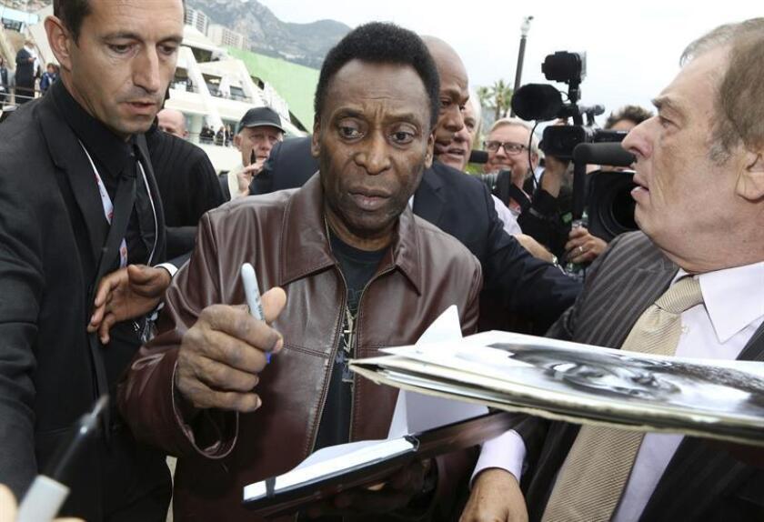 """El exfutbolista brasileño Edson Arantes do Nascimento """"Pelé"""". EFE/Archivo"""