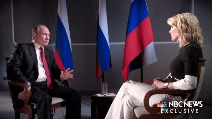 Calendar Letters Putin Interview Raises More Questions Los Angeles Times