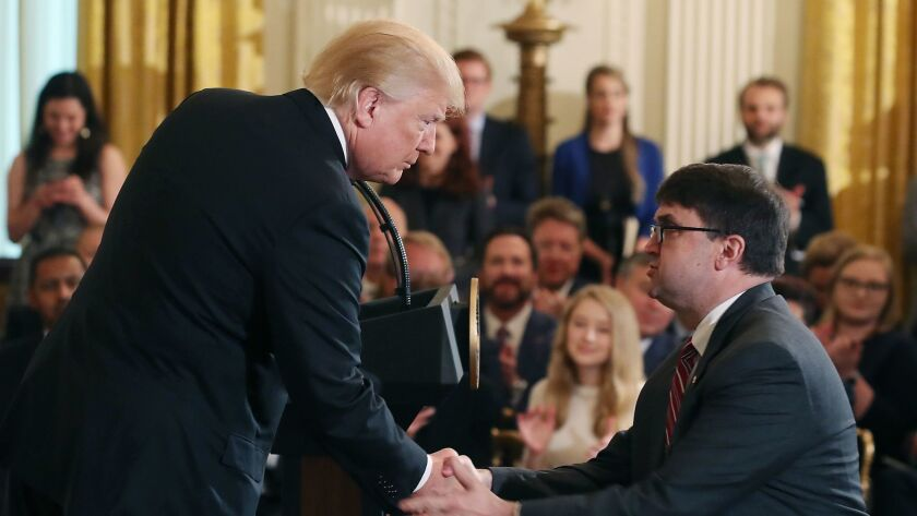 President Trump Speaks At White House Prison Reform Summit