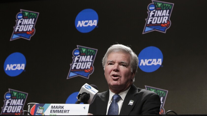 NCAA President Mark Emmert netted $2.9 million in 2017, according to USA Today.