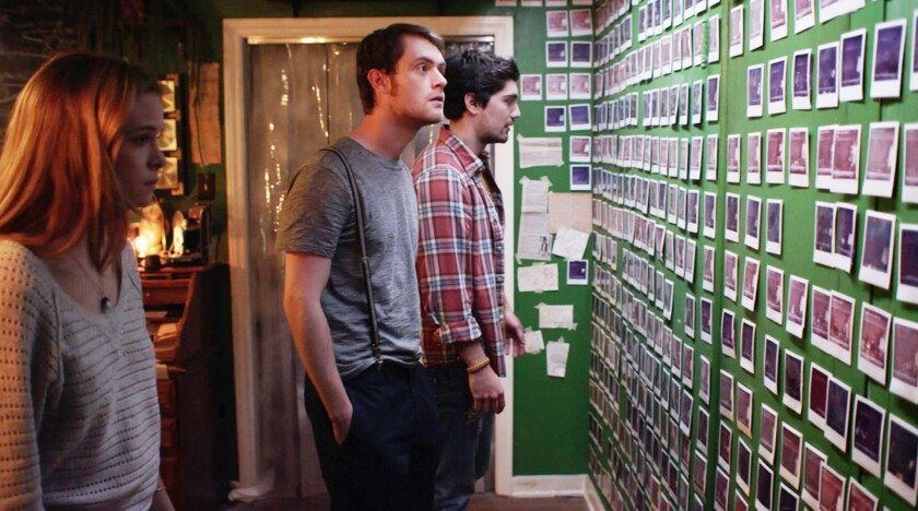 """Danielle Panabaker, Matt O'Leary and George Finn in """"Time Lapse."""""""