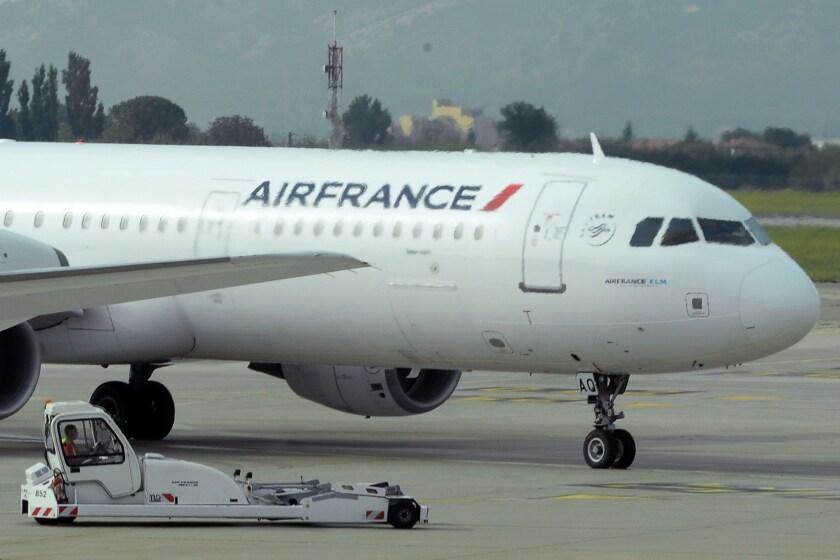 Air France flights diverted