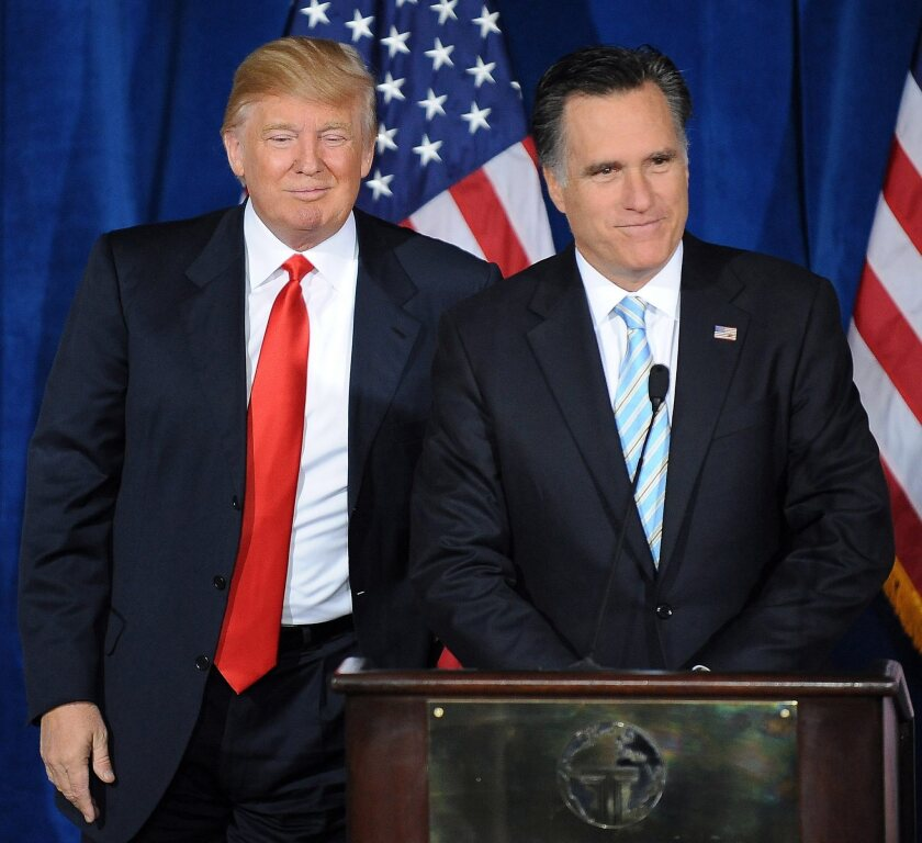 Opinion: Mitt '47%' Romney wants to save the GOP from Donald Trump ...