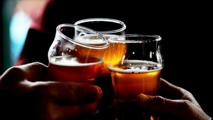 Pliny the Younger beer in glasses in a Portland bar (insidescoopsf.sfgate.com)