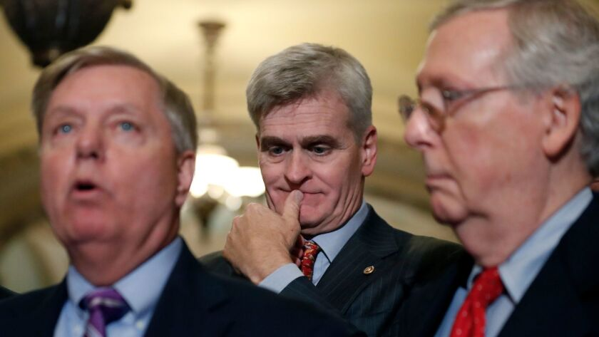 Bill Cassidy, Lindsey Graham, Mitch McConnell