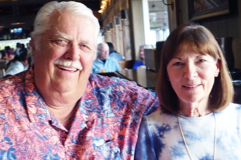 A recent photo of Ron and Marilyn Smith.
