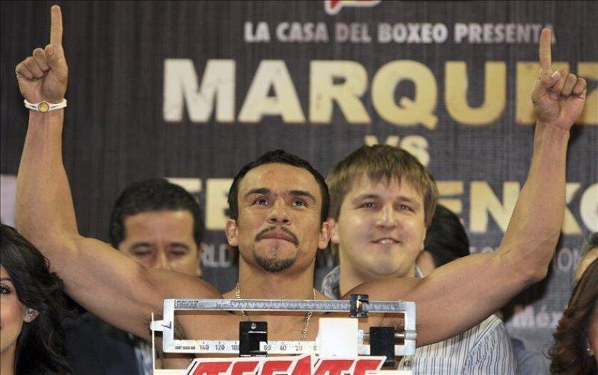 El boxeador mexicano Juan Manuel Márquez. EFE/Archivo