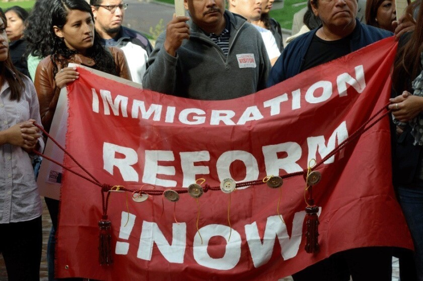 The reelection of President Obama has spurred calls for immigration reform by Latinos who backed him.