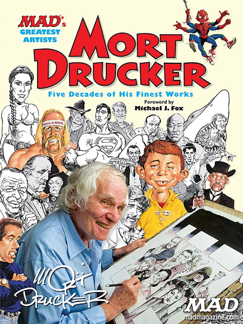 New York City native Mort Drucker joined Mad in the mid-1950s, and remained well into the 21st century.