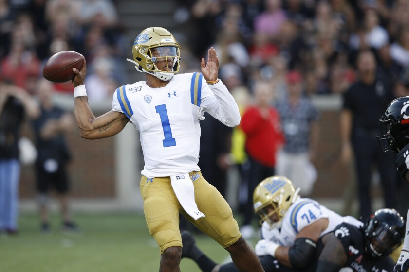 After enduring what might have qualified as his worst game as a Bruin last week against Cincinnati, UCLA quarterback Dorian Thompson-Robinson will face one of the nation's top defenses.
