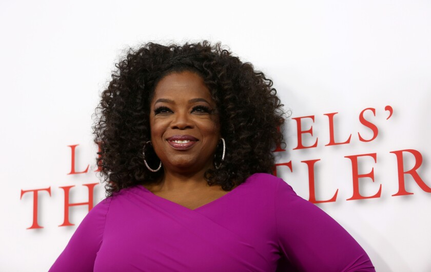 """Oprah Winfrey will be the commencement speaker for today's """"#Graduation2020: Facebook and Instagram Celebrate the Class of 2020."""""""