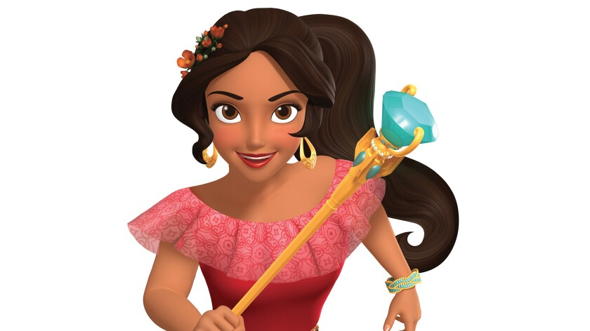 """Princess Elena from """"Elena of Avalor,"""" a Disney Channel animated series premiering this summer."""