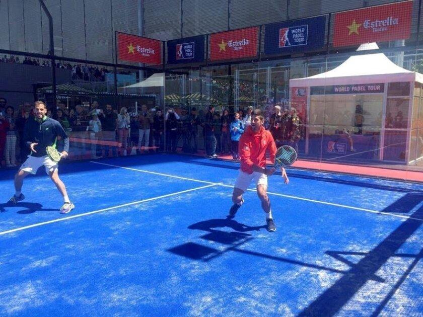 Djokovic Prueba Con El Padel En Madrid San Diego Union Tribune En Espanol
