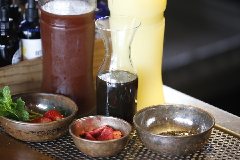 PACIFIC magazine's February drink.  The Hardball drink from Campfire.  Leigh Lecap, the bar manager, created this drink.