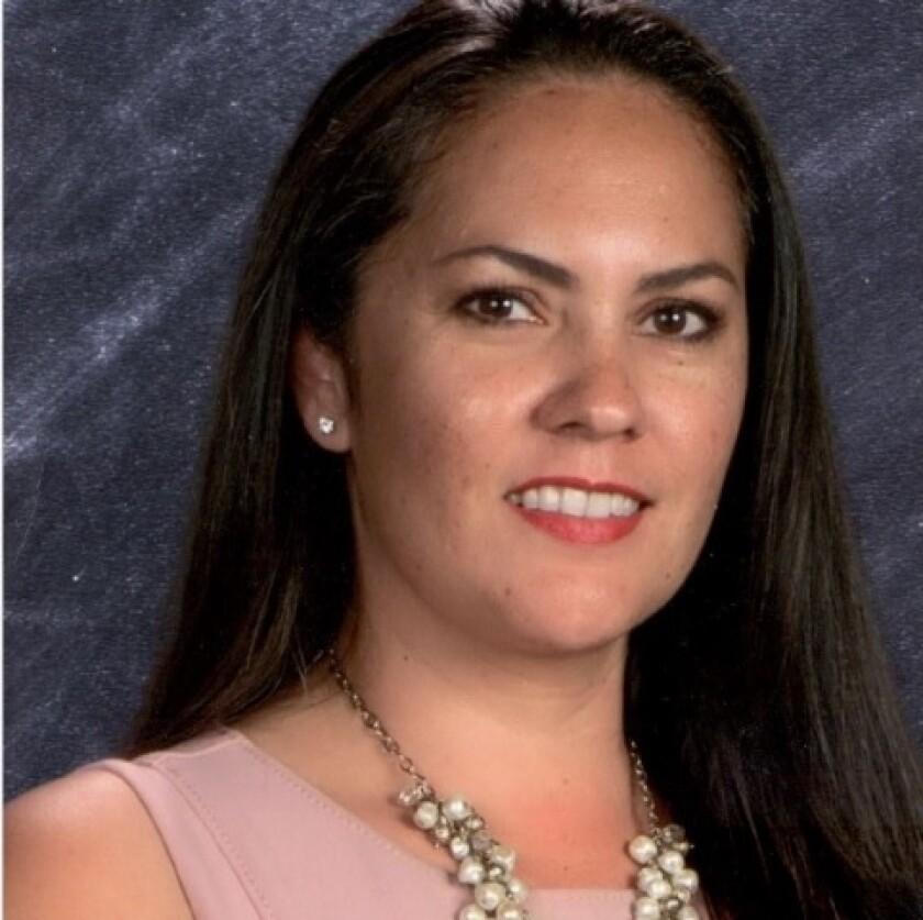 Dr. Pilar C. Vargas is the new principal at Orange Glen High School.