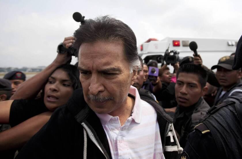 Former Guatemala President Alfonso Portillo extradited to U.S.