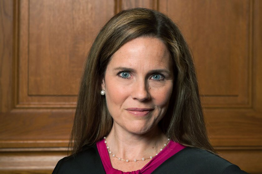 Supreme Court nominee Amy Coney Barrett
