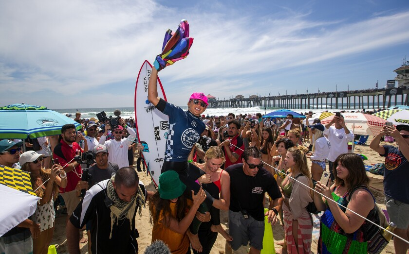 Around Town: U.S. Open of Surfing starts Monday - Los Angeles Times