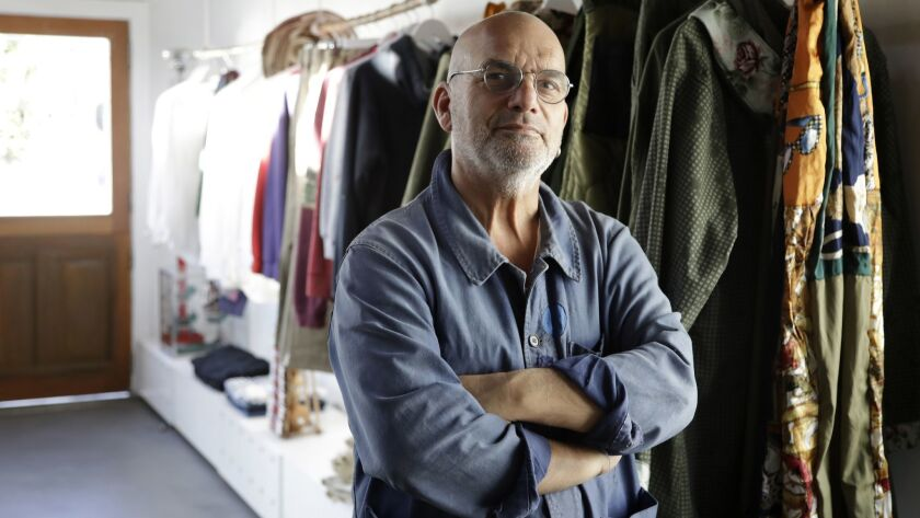 LOS ANGELES, CA-JANUARY 25, 2019: Founded by longtime apparel veteran Maurizio Donadi, pictured here