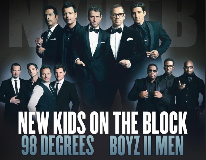New Kids on the Block, Boyz II Men, 98 Degrees plan joint tour