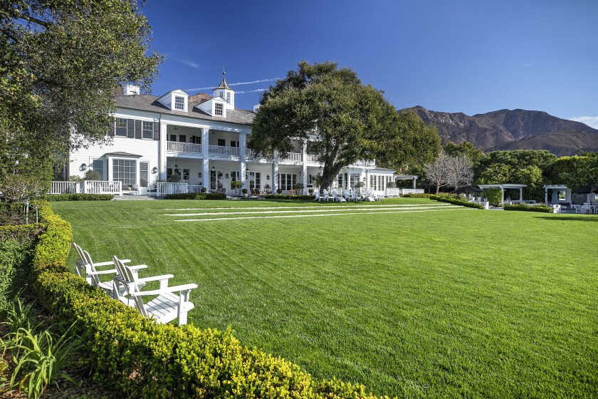 Rob & Sheryl Lowe's Montecito estate   Hot Property
