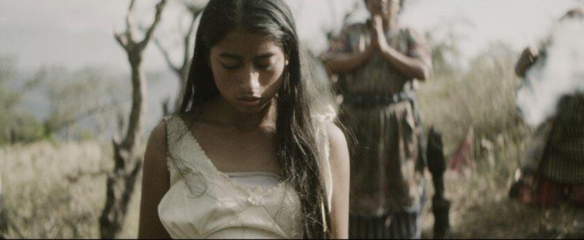 "Maria Mercedes Coroy as Maria in ""Ixcanul."""