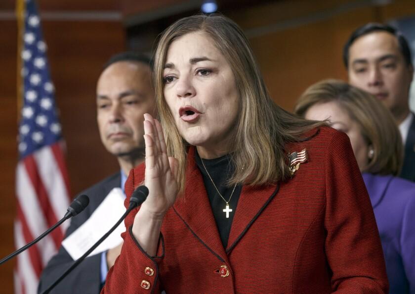 Rep. Loretta Sanchez of Orange County in February.