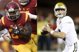 Bill Plaschke's Wakeup Call: Big challenges for USC and UCLA football