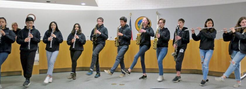 La Cañada High School Marching Band