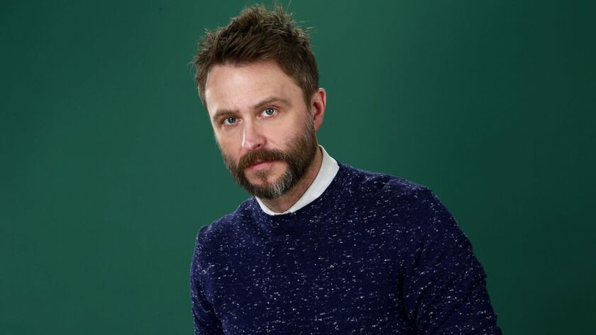 Comedian and TV host Chris Hardwick.
