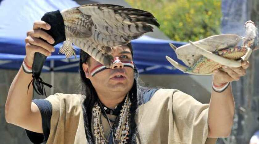 Observing Burbank's Native American history