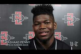 """Aztecs RB Rashaad Penny: """"We're ready to let loose and play some football"""""""