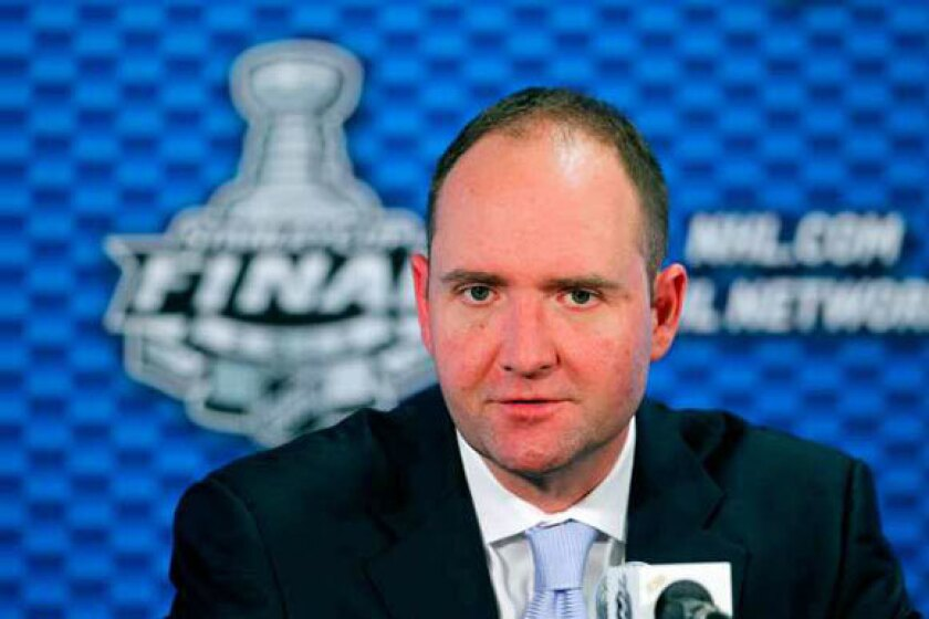 Devils Coach Peter DeBoer discusses Game 1 loss to L.A. Kings