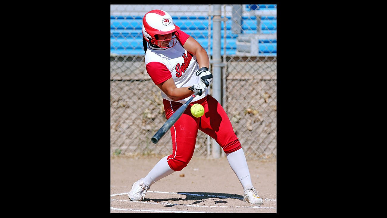 Photo Gallery: Crescenta Valley High softball vs. Burroughs