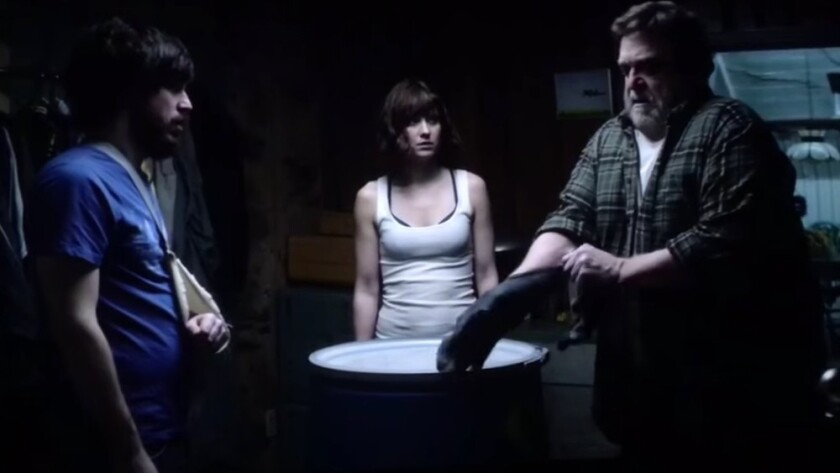 A scene from the genre mash-up '10 Cloverfield Lane'