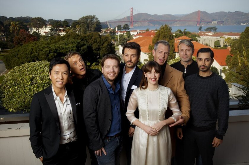 the cast of Rogue One