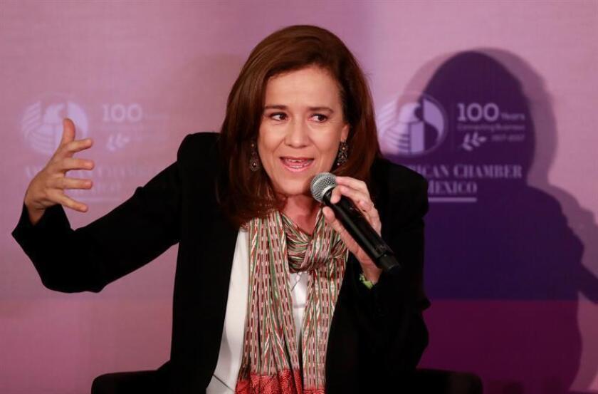 Zavala exige respeto a Donald Trump y apuesta por el libre mercado en México