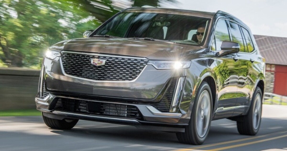 2020 cadillac xt6 luxury light while living large the san diego union tribune 2020 cadillac xt6 luxury light while