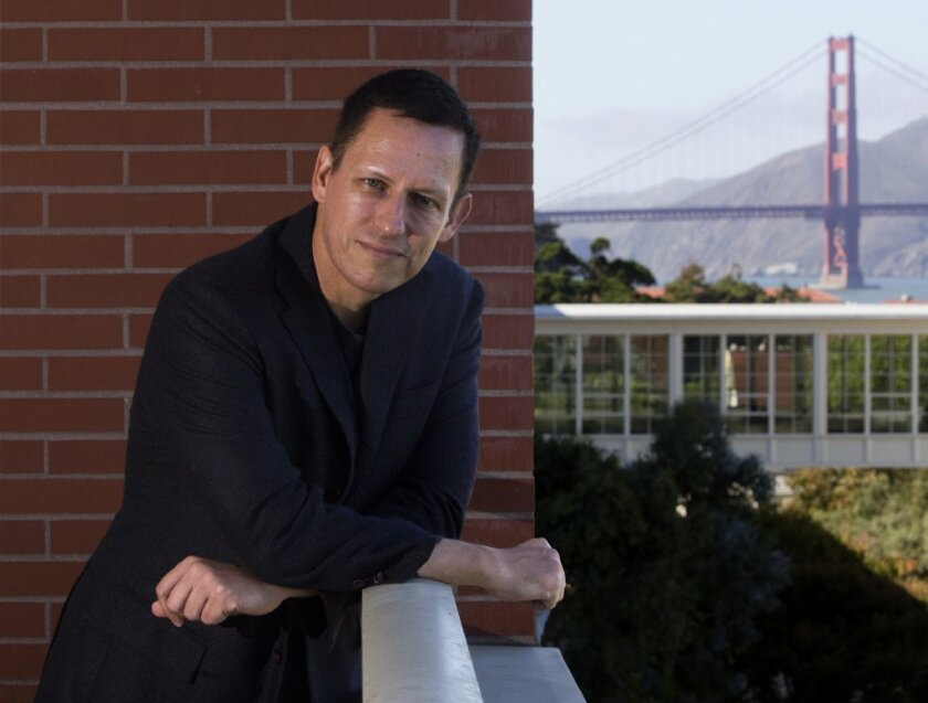 Peter Thiel's Founders Fund is believed to be the first institutional investor in the legal cannabis industry.