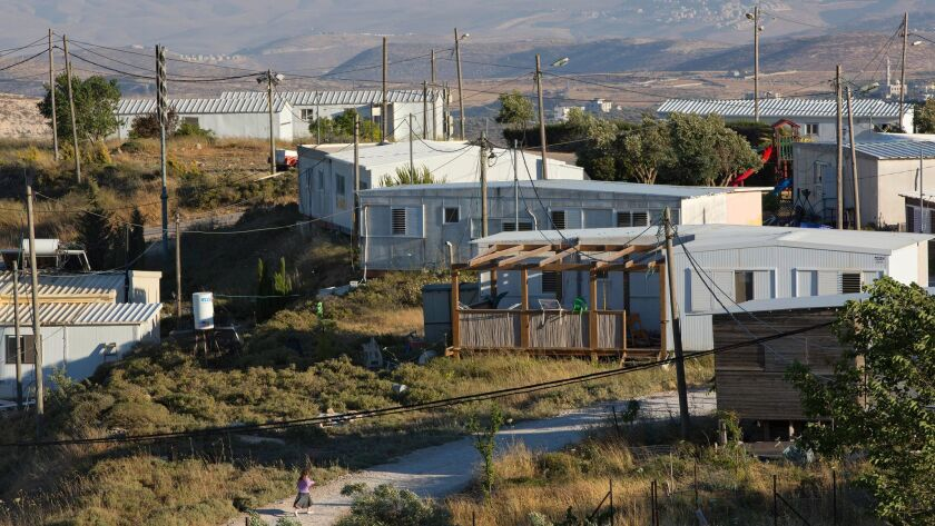 Israeli outpost in West Bank