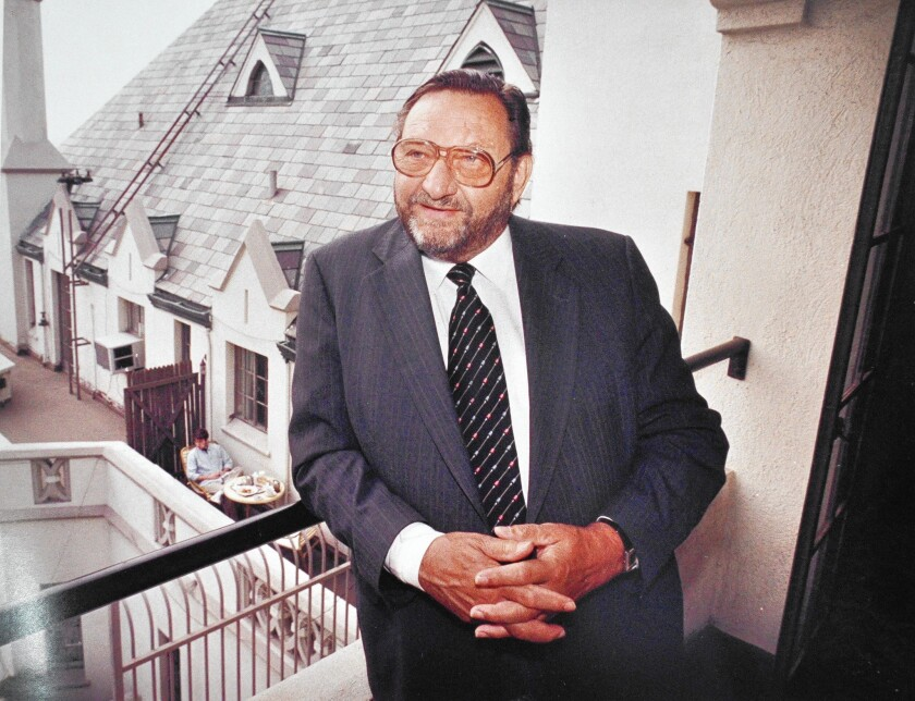 Raymond Sarlot was looking for a tax write-off when he and a partner bought the Chateau Marmont.
