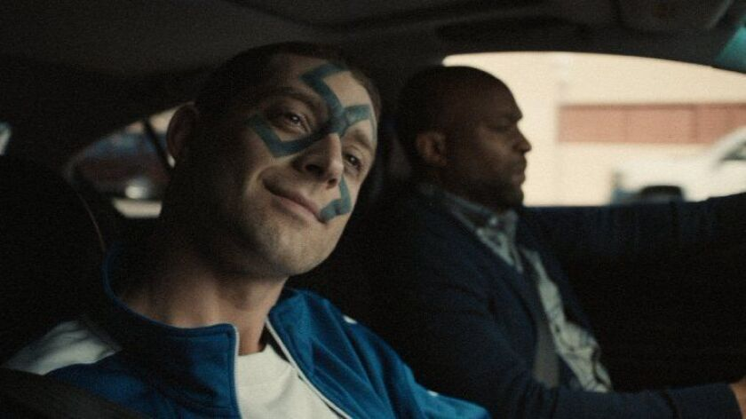 """Jon Oswald, left, as Randy, and Shaye Ogbonna as Keith in Ryan Prows' """"Lowlife."""""""
