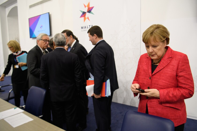 British Prime Minister Attends Informal Summit Of EU Leaders