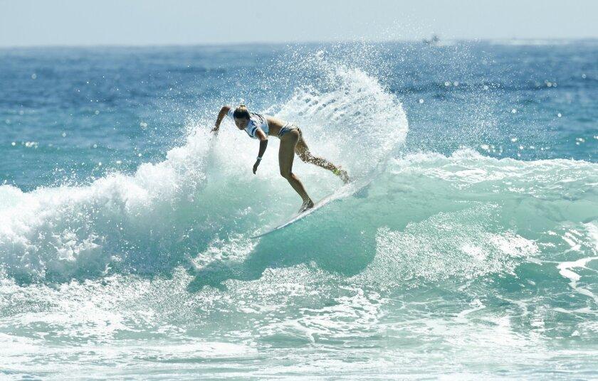 Supergirl Surf Contest Finals