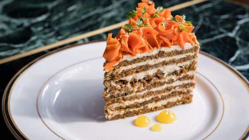 Born & Raised's seven layer carrot cake. Anne Watson photo