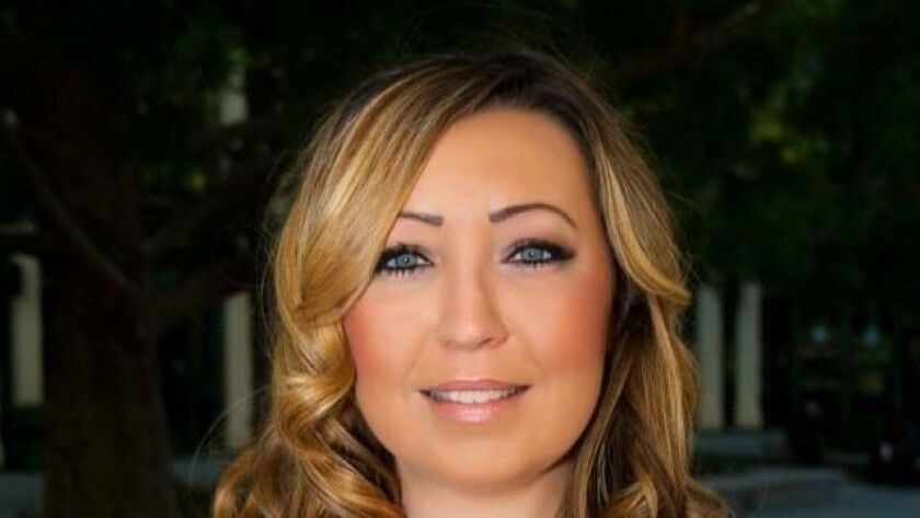 Escondido City Council District 2 candidate Nicole Downey